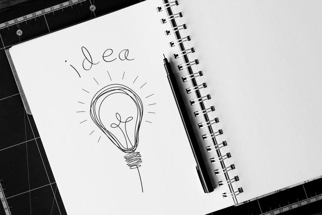 idea, concept, light bulb